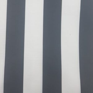 Tablecloth-Canvas-Grey- and - White -Stripe