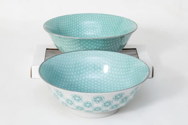 patterned-porcelain-large-bowl- set-of-2-20.5- cm-turquoise