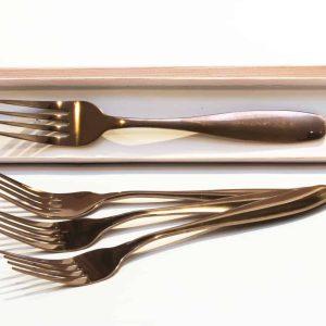 Classic-Rose-Gold-Forks-set-of-4