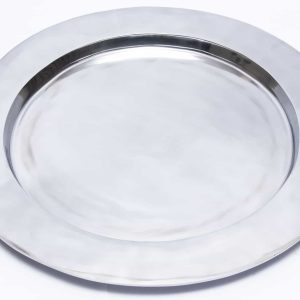 Si-Como-No-Hand-Crafted-Mexican-Pewter-Extra-large-smooth-platter