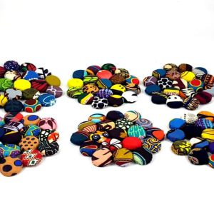 Fabric-Bottle-Top-Coaster-Round