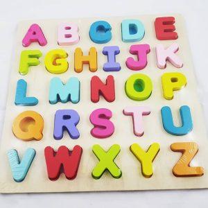 Wooden-ABC-Board-Puzzel