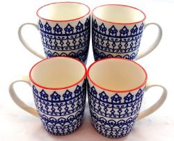 Blue-Geometric-Mugs