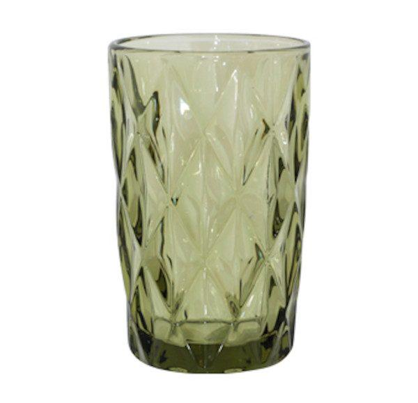 Green-Pressed-Glass-Hi-Ball-340-ml