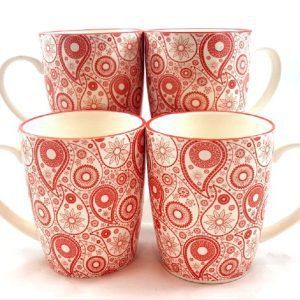 Orange-Paisley-Mug