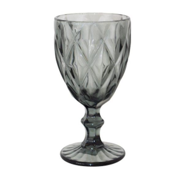 Pressed-Glass-Goblet-Grey