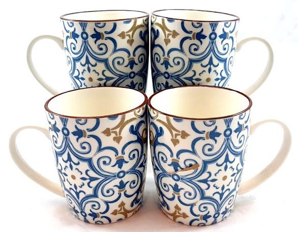 Turquoise-and-Gold-Mug
