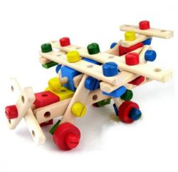 Wooden -Nuts- and- Bolts- Construction -Set-1