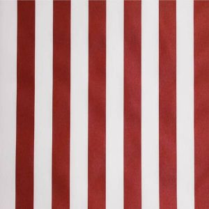 Tablecloth-Canvas-Red-and White -Stripe