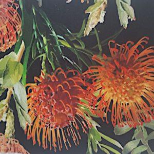 Tablecloth- Pin -Cushion-Protea