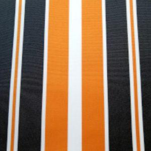 Tablecloth-Black -and-Orange-Stripe
