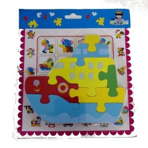 Puzzle-Wooden-Boat-8- Piece