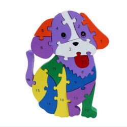 Toddler-Puzzle-Wooden-Dog-16- Piece-1-16
