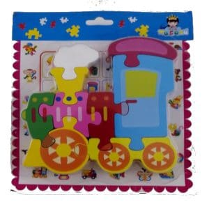Puzzle-Wooden-Train -8- Piece