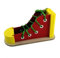 Shoelace-Sneaker-Red -Yellow