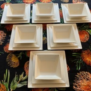 Contemporary Dinnerware And Dinner Sets