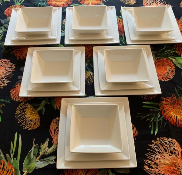 Square-Plain-White-Dinner-Set