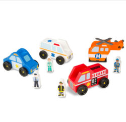Wooden-Emergency-Vehicle-Set
