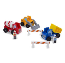 Wooden-Vehicle- Set- Construction