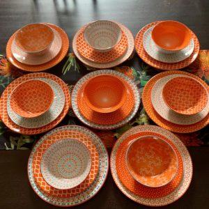 Dinner-Set-Orange