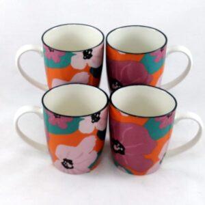 Art -Mug-Poppy-Pink