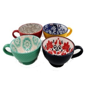 Porcelain-Art-Mug-Set