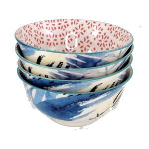 Art-Bowl-Medium-Blue-Leaf