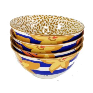 Art-Bowl-Medium-Yellow-Flower