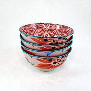 Art-Bowls-Small-Orange-Flower