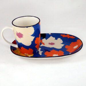 Art-Mug-Platter-Poppy-Blue