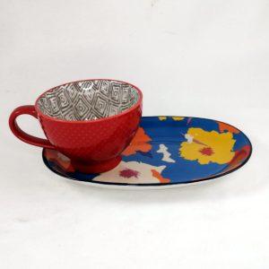 Mug-Platter-Red