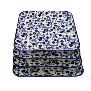 Square-Side-Plate-Blue-Floral