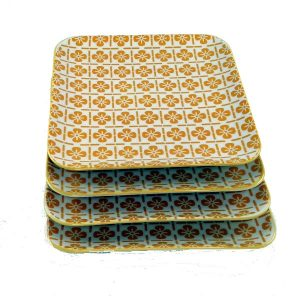 Square-Side-Plate-Yellow