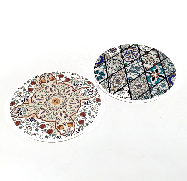 Trivet-Coaster-Stained- Glass