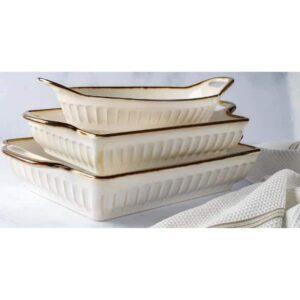 Fluted-Bakeware-Set-Cream-3-Piece