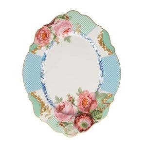 Jenna Clifford - Italian Rose - Oval Platter - 35cm