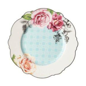 Jenna Clifford - Wavy Rose- Dinner Plate- Set of 4