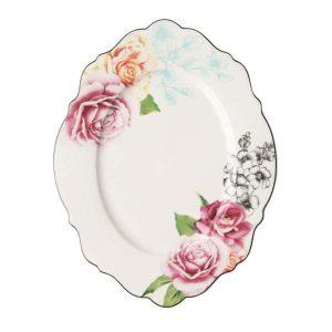 Jenna Clifford - Wavy Rose - Oval Platter 35cm