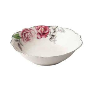 Jenna Clifford - Wavy Rose- Salad Bowl- 23.5cm