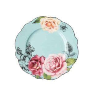 Jenna Clifford - Wavy Rose - Side Plate - Set of 4