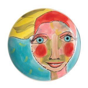 Olivia-Dinner-Plate-Artist-Lady
