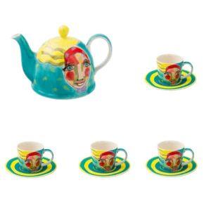 Olivia -Tea -Set-Artist -Lady