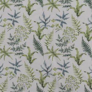 Tablecloth Round - Green Ferns