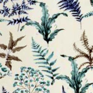 Tablecloth Square - Blue Ferns