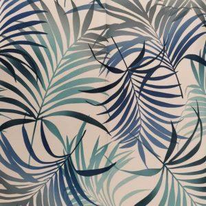 Tablecloth Square - Blue Palm