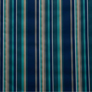 Tablecloth Blue & Green Stripe